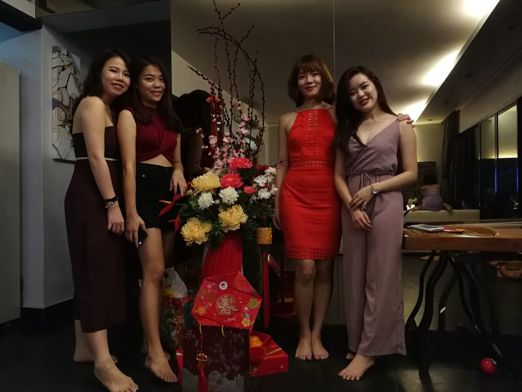 CNY Pic with Cousins