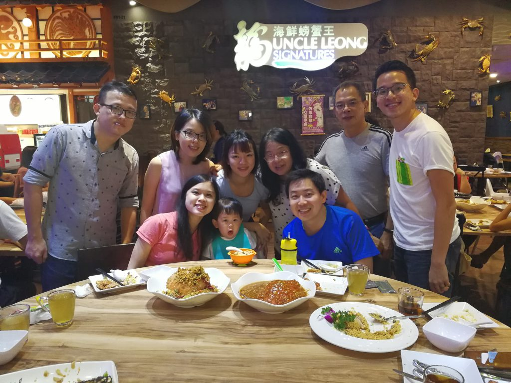 Dinner With Ong Family