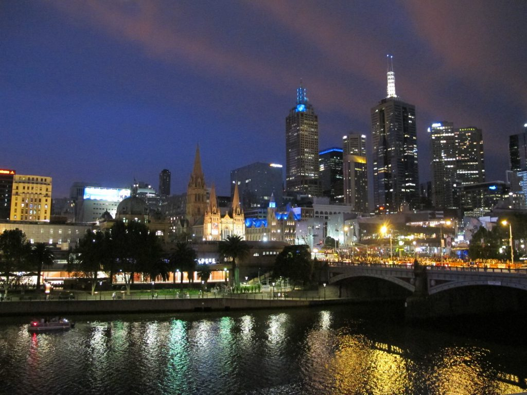 Melbourne Night View