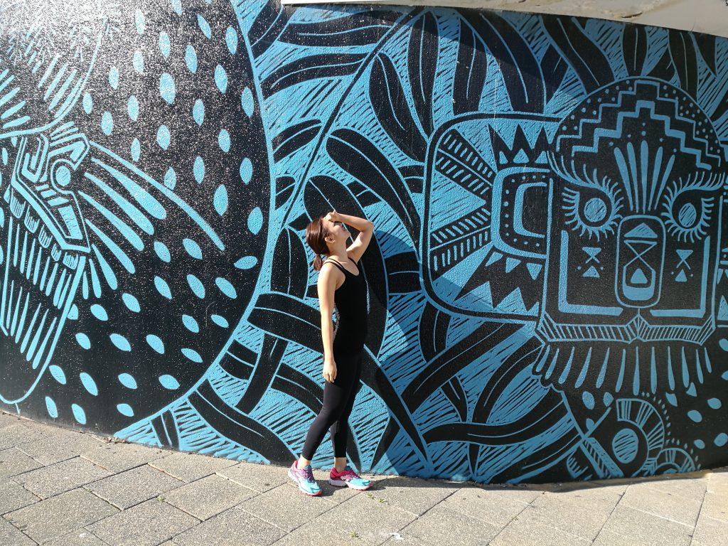 Posing in Perth City